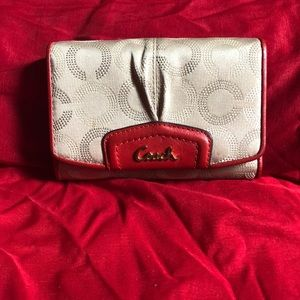 Authentic Coach small size wallet